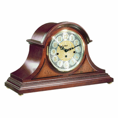 Amelia II Chiming Keywound Mantel Clock by Hermle