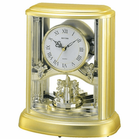 Angel Mantel Clock by Rhythm