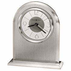 Argento Table Clock by Howard Miller