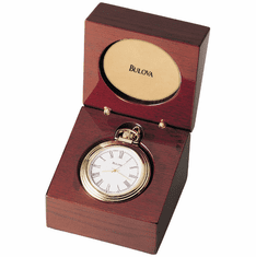 Ashton Table Clock by Bulova