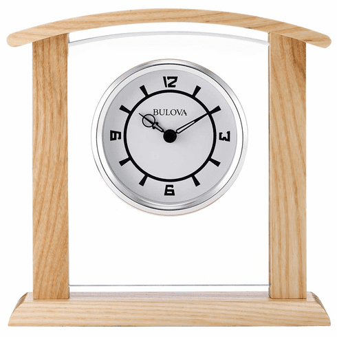 Athena Mantel Clock by Bulova
