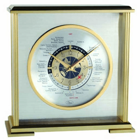 Aviator Mantel Clock by Chass