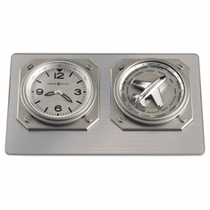 Aviatrix Table Clock by Howard Miller