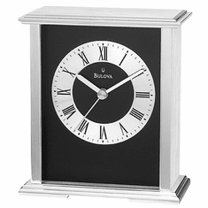 Baron Mantel Clock by Bulova