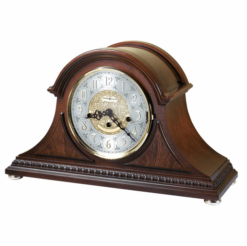 Barrett Key Wound Mantel Clock by Howard Miller