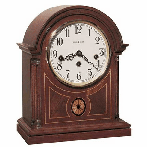 Barrister Key Wound Mantel Clock by Howard Miller