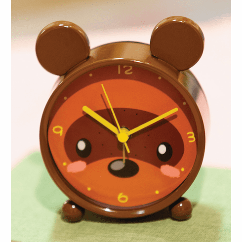 Bear Table Clock by Manual Woodworkers and Weavers