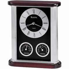 Belvedere Mantel Clock by Bulova