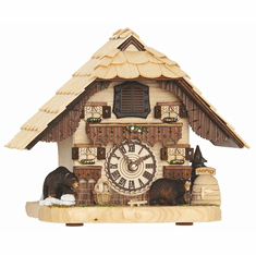 Bendorf Cuckoo Mantle Clock by Hermle