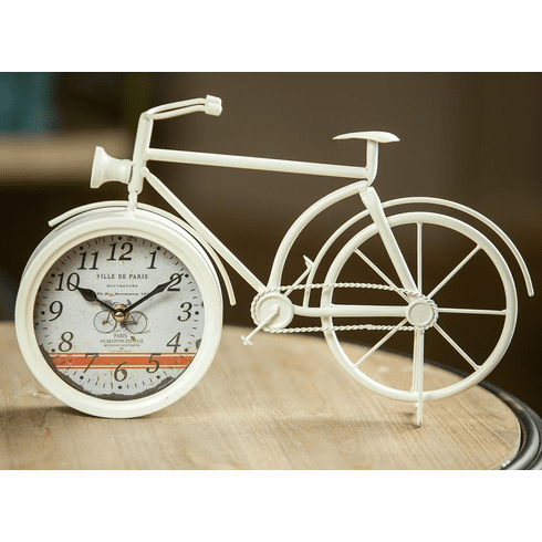 Bicycle Table Clock by Manual Woodworkers and Weavers