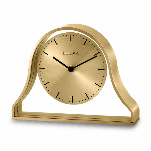 Bonita Mantel Clock by Bulova