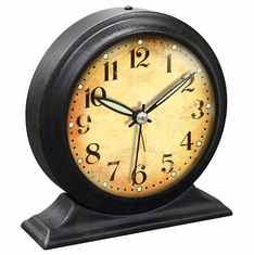 Boutique Black Alarm Clock by Infinity Instruments