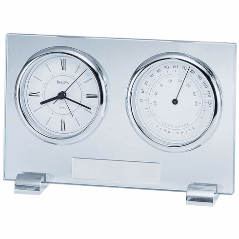 Camberly Mantel Clock with Alarm by Bulova