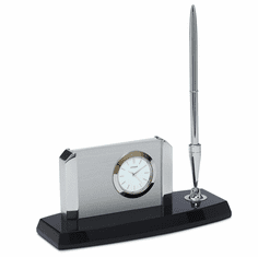 Carlsen Desk Set Clock by Citizen