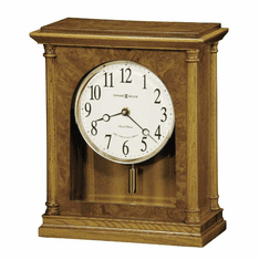 Carly Quartz Mantel Clock  by Howard Miller