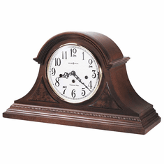 Carson Key Wound Mantel Clock by Howard Miller