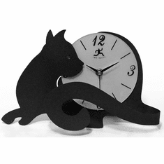 Cat Tail Mantel Clock by Infinity Instruments