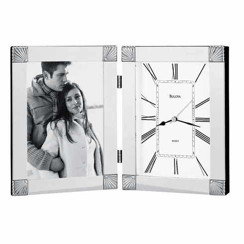 Ceremonial Picture Frame Clock by Bulova