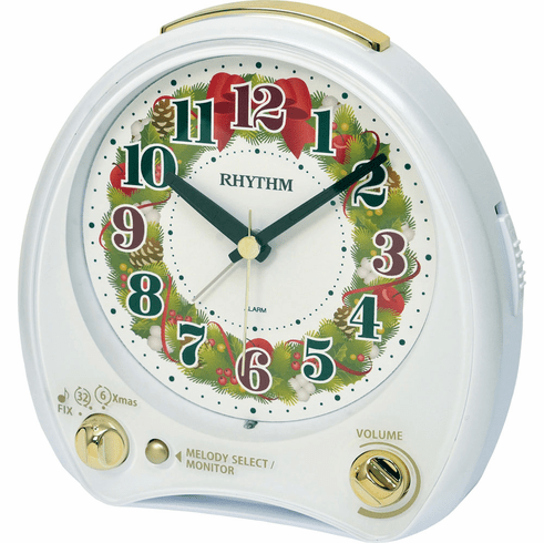 Christmas Morning Alarm Clock by Rhythm
