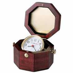 Chronometer Alarm Table Clock by Howard Miller