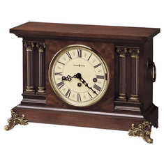 Circa Key Wound Mantel Clock by Howard Miller