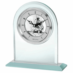 Clarity Mantel Clock by Bulova