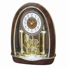 Classic Nightingale Mantel Clock by Rhythm