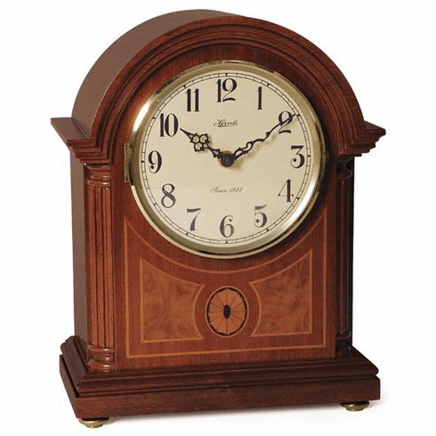Clearbrook Quartz Dual Chime Mantel Clock by Hermle