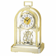 Contemporary Carriage Mantel Clock by Rhythm