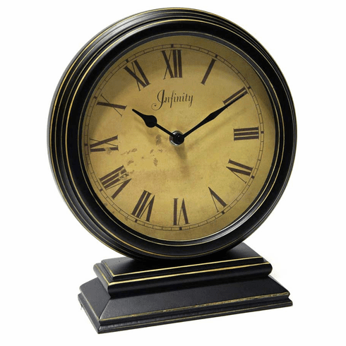 Dais Mantel Clock by Infinity Instruments