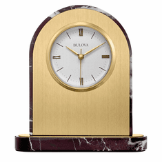 Desire Mantel Clock by Bulova