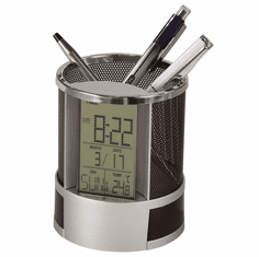 Desk Mate Clock with Alarm by Howard Miller