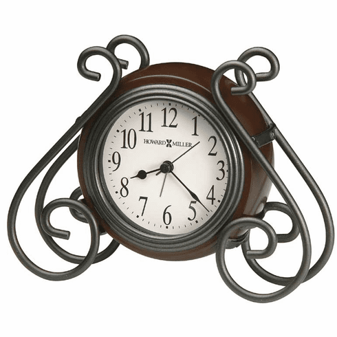 Diane Alarm Mantel Clock by Howard Miller