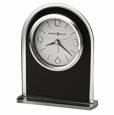 Ebony Luster Mantel Clock by Howard Miller