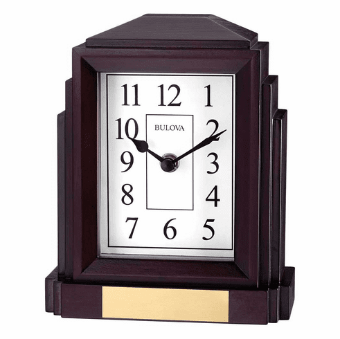Empire Bluetooth Enabled Mantel Clock by Bulova