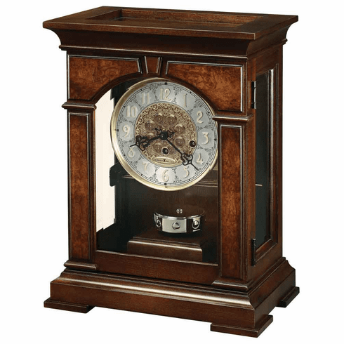 Emporia Key Wound Mantel Clock by Howard Miller