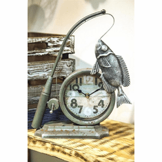 Fisherman Table Clock by Manual Woodworkers and Weavers