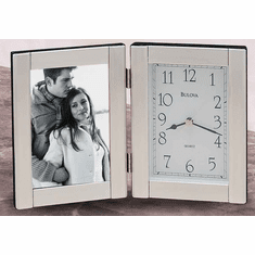 Forte II Picture Frame Clock by Bulova