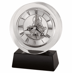 Fusion Table Clock by Howard Miller