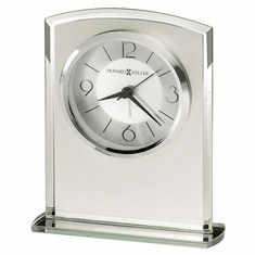 Glamour Alarm Table Clock by Howard Miller