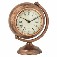 Globe Mantel Clock by Sterling