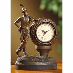Golfer Mantel Clock by Crestview Collection