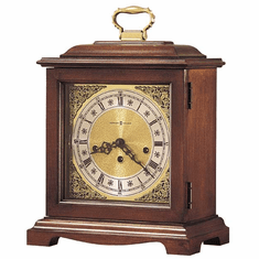 Graham Bracket Key Wound Mantel Clock by Howard Miller
