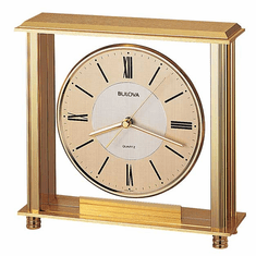Grand Prix Mantel Clock by Bulova