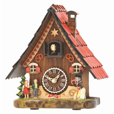 Gretel Cuckoo Mantle Clock by Hermle