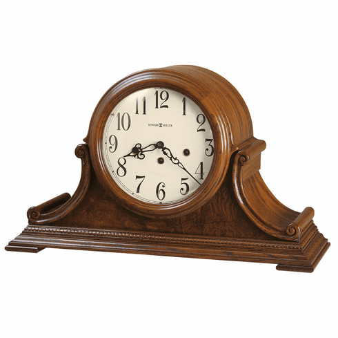 Hadley Key Wound Mantel Clock by Howard Miller