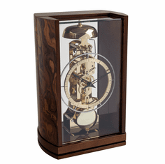 Jaxon Mantel Clock Walnut by Hermle