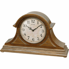 Joyful Remington Mantel Clock by Rhythm