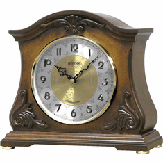 Joyful Versailles Mantel Clock by Rhythm