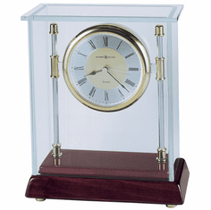 Kensington Quartz Mantel Clock by Howard Miller